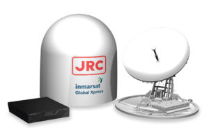 JRC Alphatron Marine Global Xpress