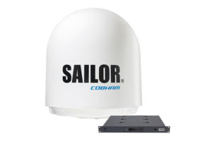 Sailor Cobham VSAT TV-at-Sea